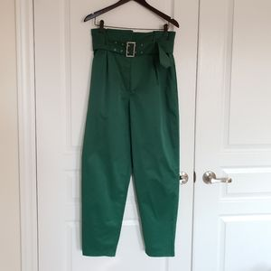 H&M  Paper Bag High Rise Pants